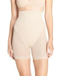 Tc Fine Intimates - Natural High Waist Shaping Shorts - Lyst