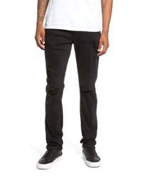 PAIGE | Black Transcend - Croft Skinny Fit Jeans for Men | Lyst