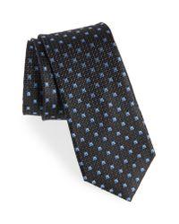 Nordstrom - Black Mauro Neat Silk Tie for Men - Lyst