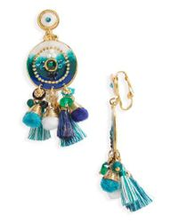Gas Bijoux - Multicolor Stella Clip Earrings - Lyst