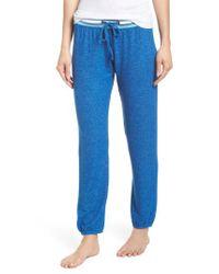 Make + Model - Blue Good Vibes Jogger Pants - Lyst