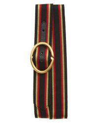 Gucci - Black Slider Belt - Lyst