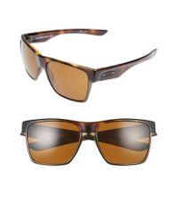 89f6f942b6 Lyst - Oakley Twoface(tm) Xl 59mm Sunglasses in Brown for Men