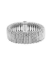 Lagos - Metallic Rope Bracelet - Lyst