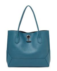 Botkier | Blue Waverly Leather Tote | Lyst