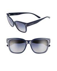 Tory Burch - Blue 55mm Gradient Sunglasses - Navy - Lyst