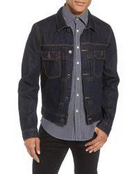 Neuw - Blue Luxe Denim Jacket for Men - Lyst