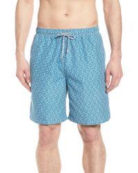 Peter Millar - Blue Night Swimming Swim Trunks for Men - Lyst