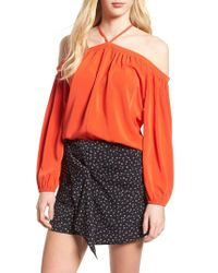 BISHOP AND YOUNG - Multicolor Bishop + Young Ana Off The Shoulder Top - Lyst