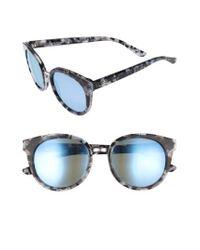 Tory Burch | Blue 53mm Polarized Sunglasses | Lyst