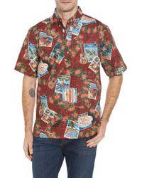 Reyn Spooner   Multicolor Hawaiian Christmas 2017 Sport Shirt for Men   Lyst