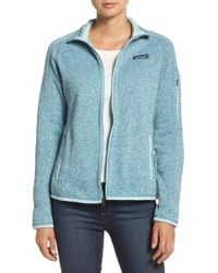 Patagonia - Blue 'better Sweater' Jacket for Men - Lyst