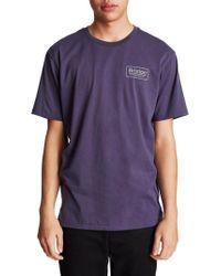 Brixton - Blue Palm Premium T-shirt for Men - Lyst