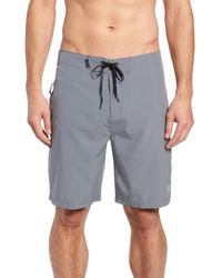 "Hurley Gray Phantom One And Only 20"" Board Shorts for men"