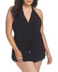 Magicsuitr - Black Magicsuit Bianca One-piece Romper Swimsuit - Lyst