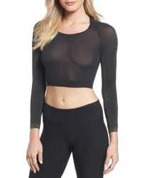 Spanx - Multicolor Spanx Arm Tights(tm) Shimmer Layering Top - Lyst