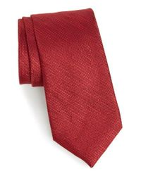 Calibrate - Hoss Textured Silk Tie for Men - Lyst