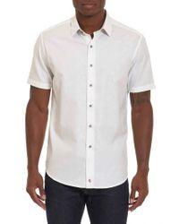 Robert Graham - White Cullen Regular Fit Sport Shirt for Men - Lyst