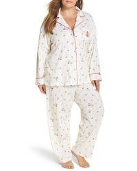 Lauren by Ralph Lauren | White Cotton Pajamas | Lyst