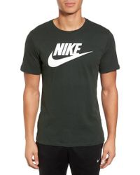 721d23b2 Lyst - Nike 'tee-futura Icon' Graphic T-shirt in Green for Men