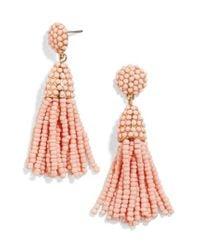 BaubleBar - Pink Tratar Drop Earrings - Lyst