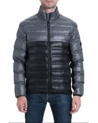 78484bb3f7ce Lyst - Michael Kors Hartwick Down Insulated Jacket in Gray for Men