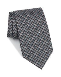 Ferragamo - Red Estro Print Silk Tie for Men - Lyst