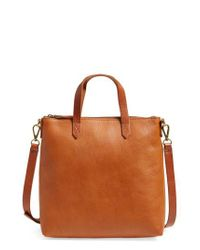 Madewell - Black The Transport Leather Crossbody Bag - - Lyst
