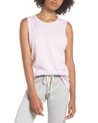Richer Poorer - Purple Muscle Tank - Lyst