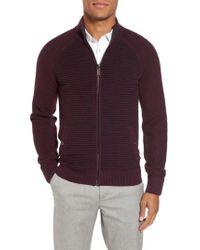 Ted Baker | Purple Modern Slim Fit Raglan Sweater for Men | Lyst