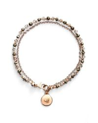 Astley Clarke | Metallic 'biography' Beaded Bracelet - Labradorite/ Freedom (nordstrom Exclusive) | Lyst