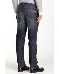 DIESEL - Blue Darron Slim Straight Leg Jean for Men - Lyst