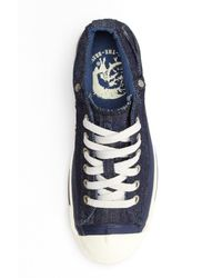 DIESEL Blue Magnete Exposure Low Sneaker for men