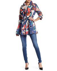 Hobbs | Blue Cocos Mac Coat | Lyst