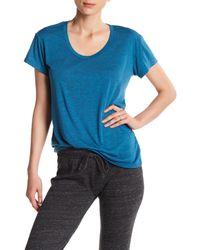 Alternative Apparel - Blue Kimber Short Sleeve Tee - Lyst