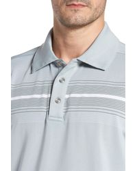 Swc - Blue Chest Stripe Polo for Men - Lyst