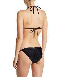 ViX - Black Solid Bikini Tri-top - Lyst