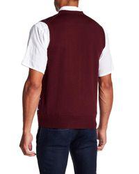 Brooks Brothers - Multicolor Fairisle Wool Sweater Vest for Men - Lyst