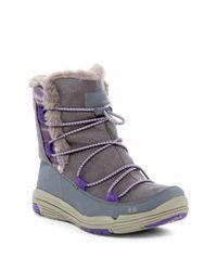 Ryka   Multicolor Aubonne Faux Fur Trim Waterproof Boot   Lyst