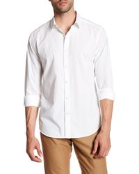 Theory - White Zack Button Up Shirt for Men - Lyst