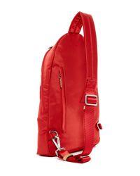 Tumi - Red Nylon Luxor Sling Backpack - Lyst