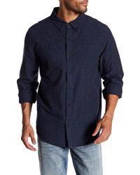 Blank NYC - Blue Supermodel Magnet Long Sleeve Regular Fit Shirt for Men - Lyst