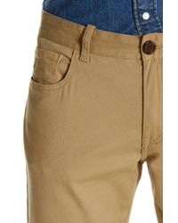 "Original Penguin | Natural Stretch Twill Straight Pant - 32-34"" Inseam for Men 
