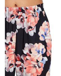 Cece by Cynthia Steffe - Black Garden Blooms Pants - Lyst
