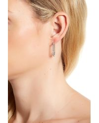 Rebecca Minkoff | Multicolor Mini Pave Safety Pin Earrings | Lyst