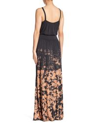 Go Couture - Gray Sleeveless Washed Maxi Dress - Lyst