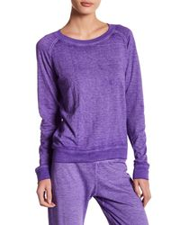 Honeydew Intimates - Purple Burnout Lounge Sweatshirt - Lyst