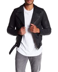 Neuw   Black Aoyama Leather Jacket for Men   Lyst