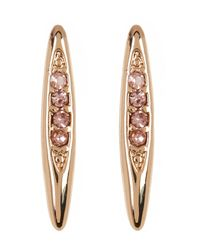 BCBGeneration | Multicolor Crystal Detail Marquise Earrings | Lyst