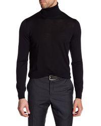Giorgio Armani   Black Turtleneck Wool Sweater for Men   Lyst